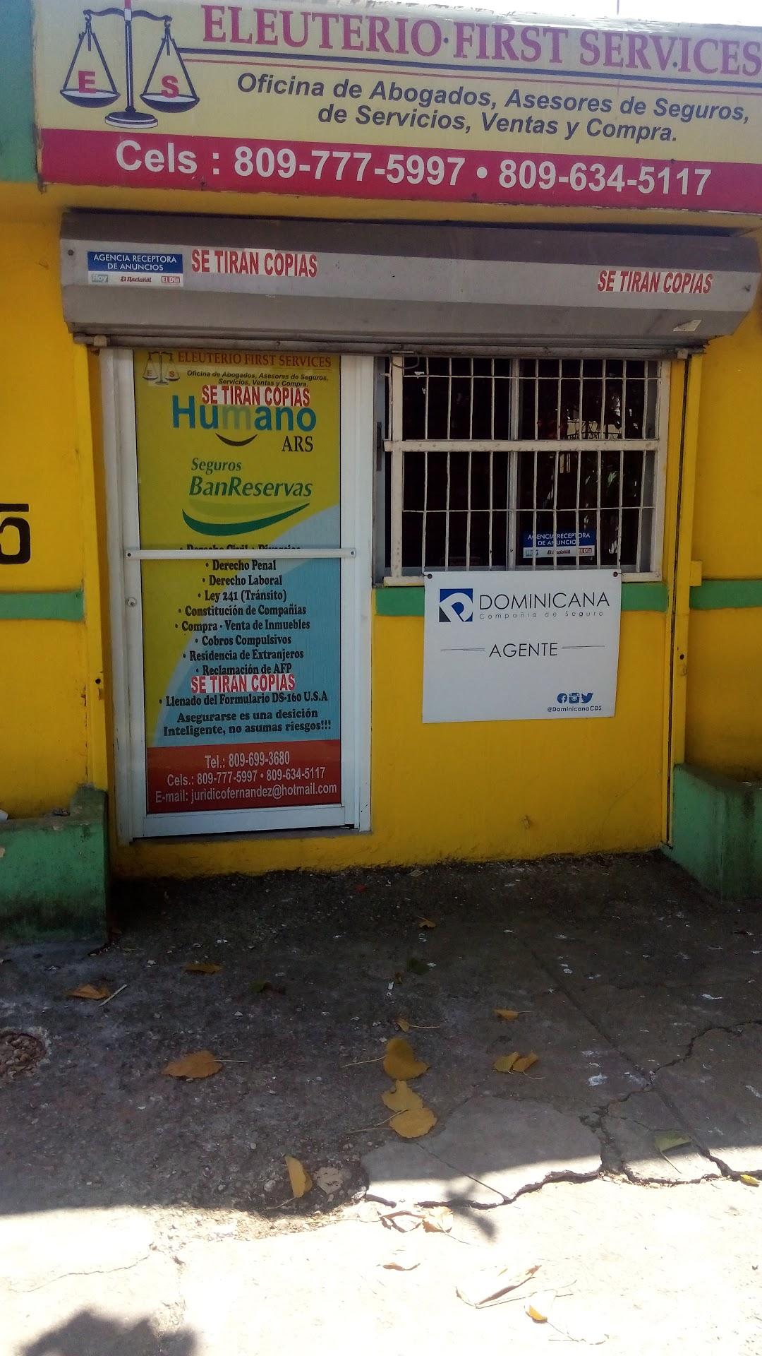 ELEUTERIO FIRST SERVICES