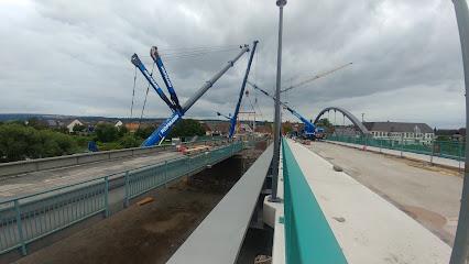 Weserbrücke Beverungen-Lauenförde