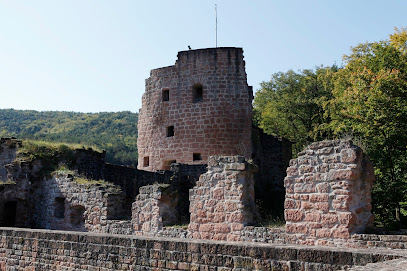 Castle and fortress ruins Hardenburg
