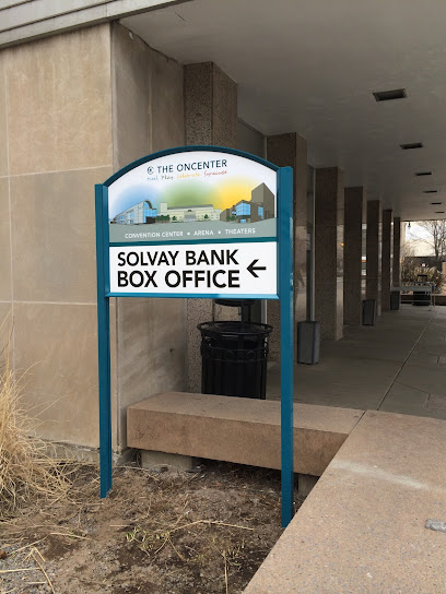 Event ticket seller Solvay Bank Box Office at The Oncenter