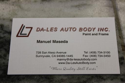 Auto Body Shop «Da-Les Auto Body Shop», reviews and photos, 728 San Aleso Ave, Sunnyvale, CA 94085, USA