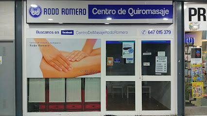 imagen de masajista Rodo Romero Centro de Quiromasaje