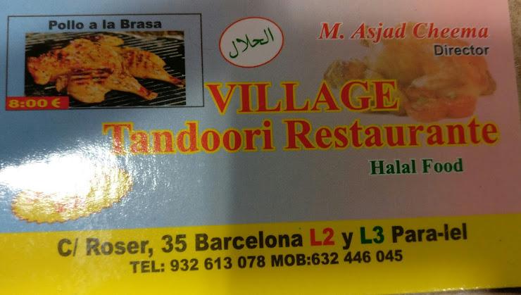 Village Restaurant i Doner Kebab Carrer de Francesc Macià, 63, 08912 Badalona, Barcelona