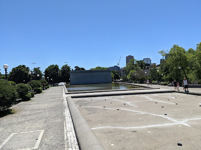 Cal Anderson Park Reflecting Pool in Seattle WA