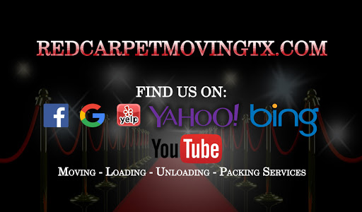 Red Carpet Moving Company, Tyler, TX, Mover