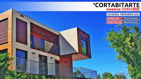 CORTABITARTE soria  vivienda prefabricada