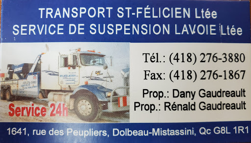Towing Service Transport St-Felicien Lte in Dolbeau-Mistassini (Quebec) | AutoDir