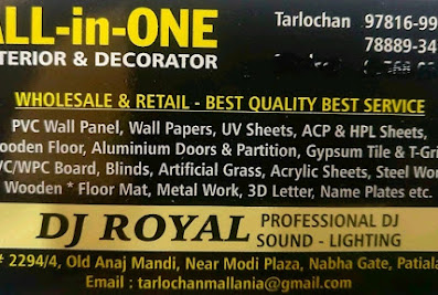 All In One interior and decorators Patiala
