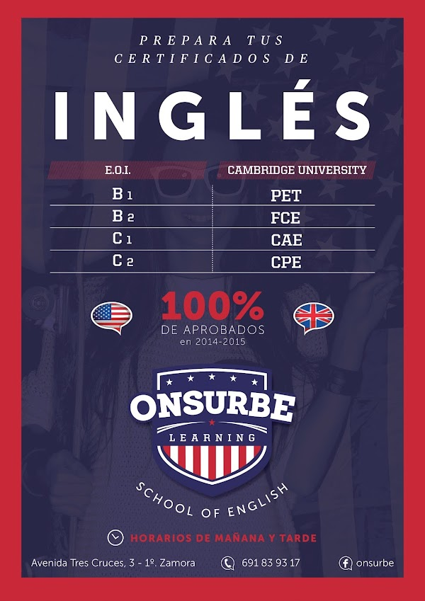 Academia de Inglés Onsurbe Learning