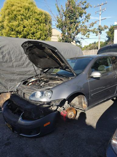 Auto Body Shop «Multi-Craft Auto Body Shop», reviews and photos, 917 California Dr, Burlingame, CA 94010, USA