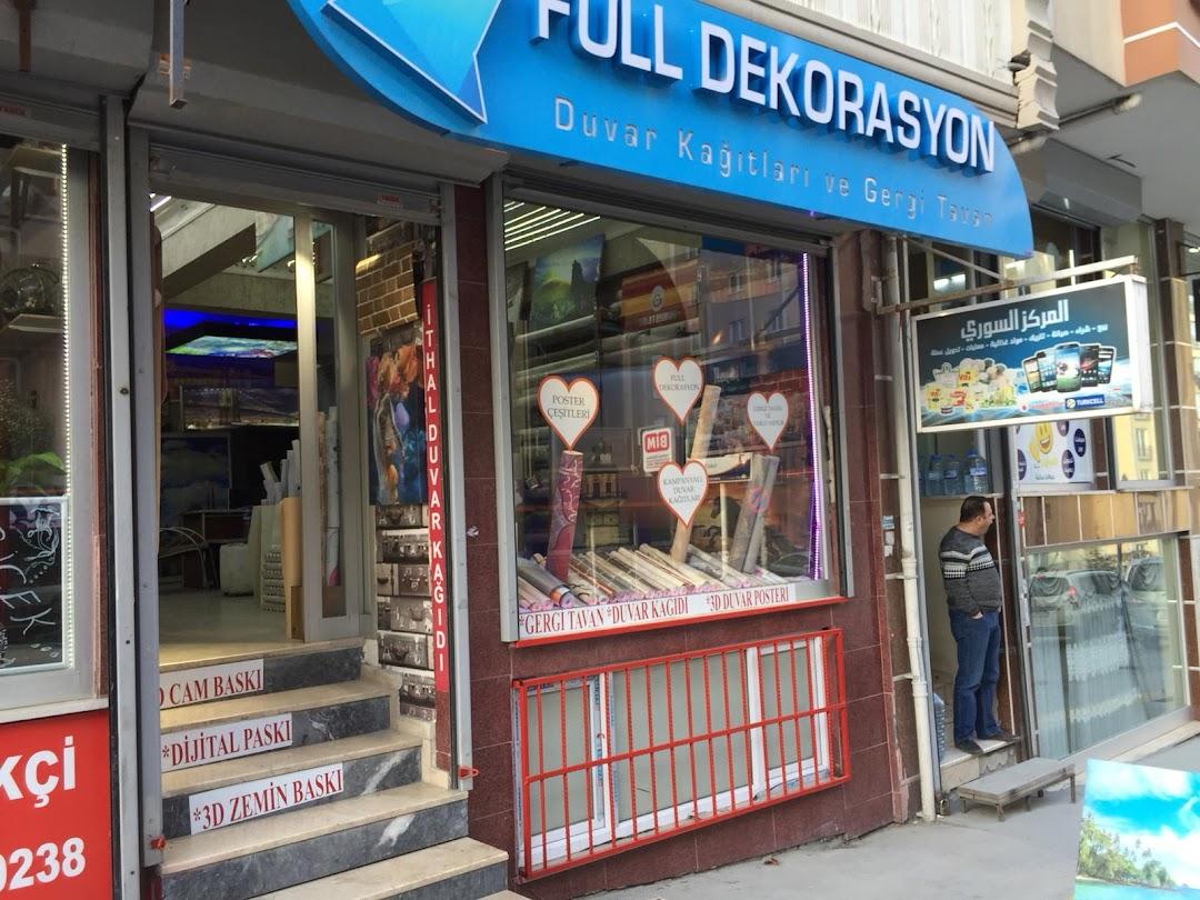 Full Dekorasyon Duvar Kad