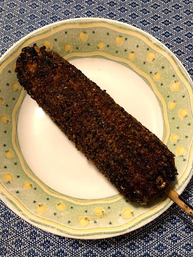 光華碳烤玉米