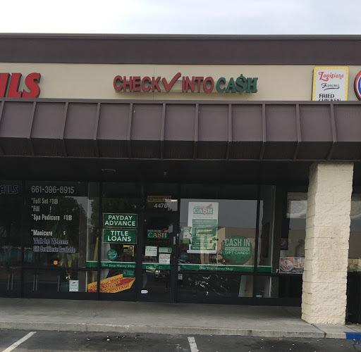 Check Into Cash in Bakersfield, California