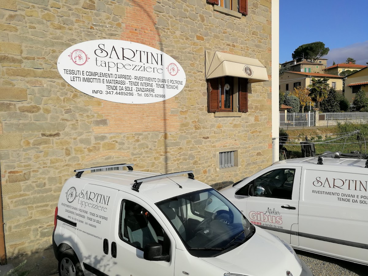 Google review of Sartini Tappezzeria by Claudio Vannucci