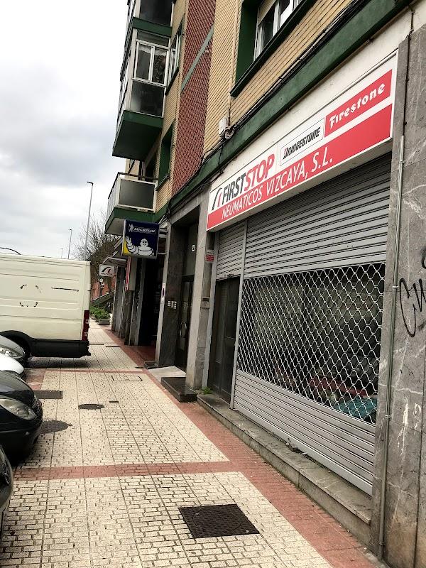 First Stop - Neumáticos Vizcaya
