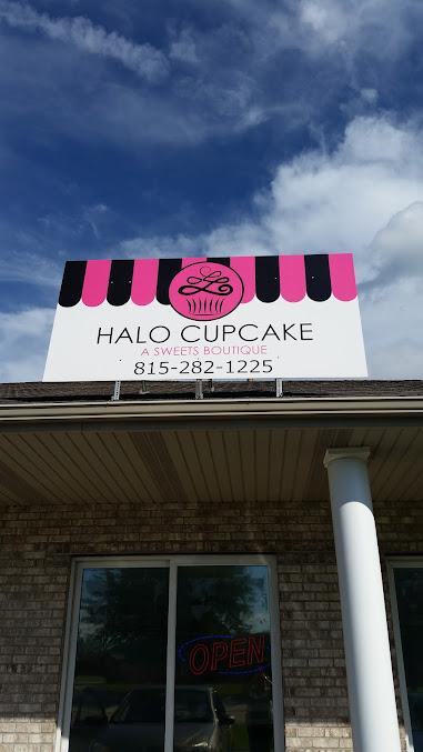 Halo Cupcake