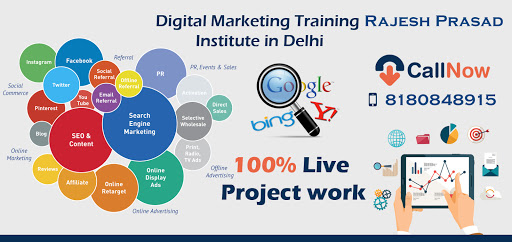 Digital Marketing Training Institute Tagore Garden (SEO, SMO, PPC), Digital Marketing Courses Delhi-img