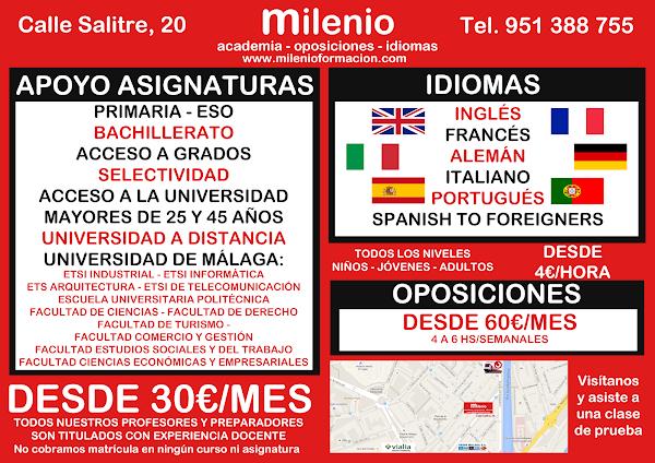Academia de Oposiciones Milenio