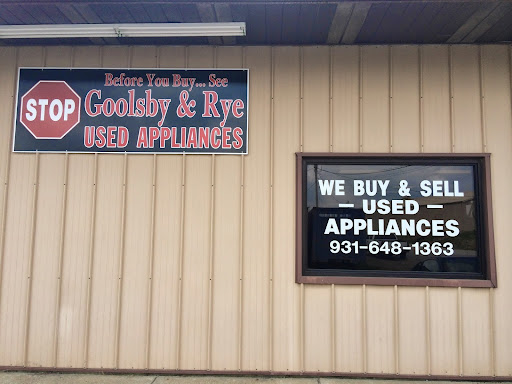 Used Appliance Store «Goolsby & Rye Used Appliances», reviews and photos, 1172 Fort Campbell Blvd, Clarksville, TN 37042, USA