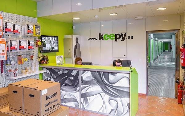 Alquiler de Trasteros Keepy Málaga