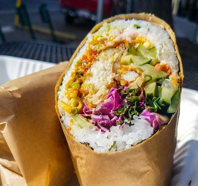 Make Fish Poke & Sushi Burrito