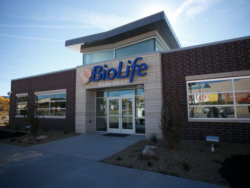 BioLife Plasma Services, 671 N Dixie Dr, St George, UT 84770, Blood Donation Center