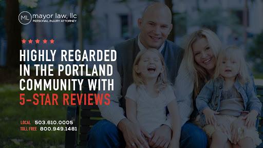 Mayor Law LLC, 121 SW Salmon St #1125, Portland, OR 97204, Personal Injury Attorney