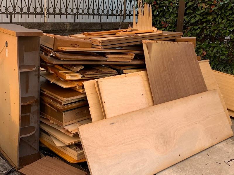 不用品回収なら解体もできる本丸
