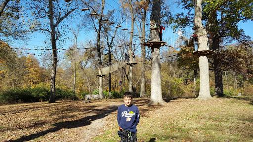 Recreation Center «Go Ape Zip Line & Treetop Adventure - Creve Coeur Park», reviews and photos, 13219 Streetcar Dr, Maryland Heights, MO 63043, USA