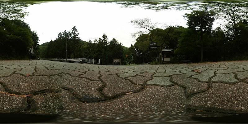 瀬林の漣痕(さざ波岩)恐竜の足跡