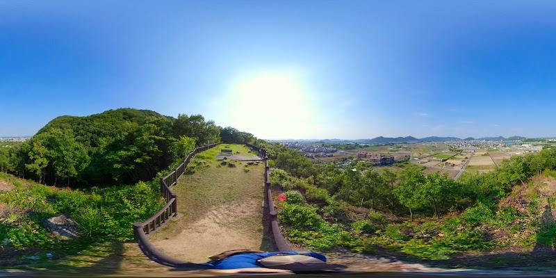 名勝木曽川展望台