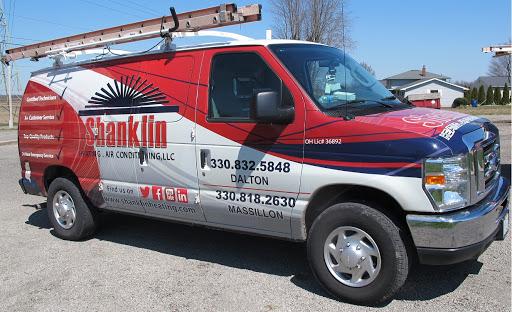 Shanklin Heating & Air Conditioning in Dalton, Ohio