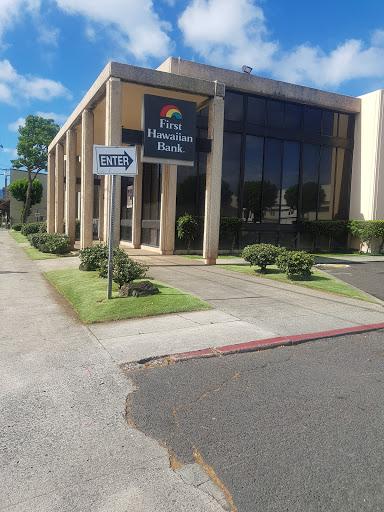First Hawaiian Bank King-Liliha Branch in Honolulu, Hawaii