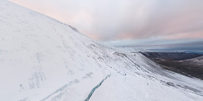 Svea Snowmobile Trail, Svalbard and Jan Mayen