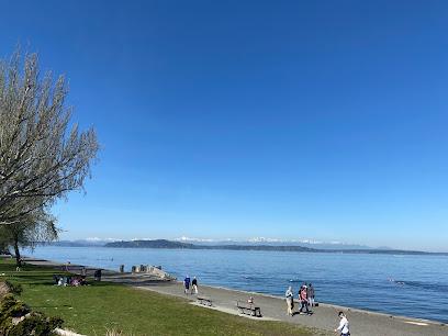 Alki Beach in Seattle WA