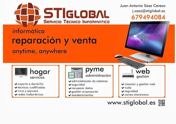 STIglobal, Servicio Tecnico Informatico, La Rioja