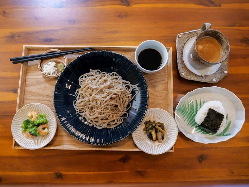 SOBA & CAFE sanpo 自家栽培・手打ち蕎麦とカフェ さんぽ