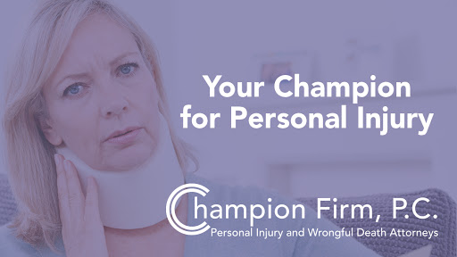 Personal Injury Attorney «The Champion Firm, P.C.», reviews and photos
