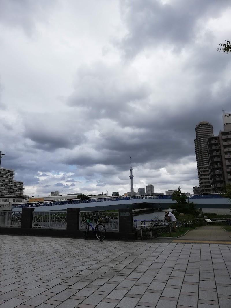 水上アスレチック(横十間川親水公園)