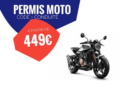 photo de l'auto école ECF Toulouse J JAURES - 🏍 🚗 N1 du Stage Code et Conduite - Permis Moto 🏍 A2 - Passerelle Mo