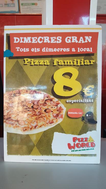 Restaurante Pizza World Carrer de Mossèn Jacint Verdaguer, 66, 08830 Sant Boi de Llobregat, Barcelona