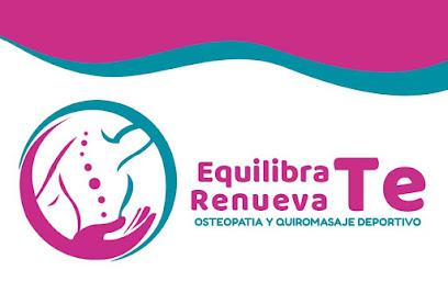 imagen de masajista Equilíbrate Renuévate