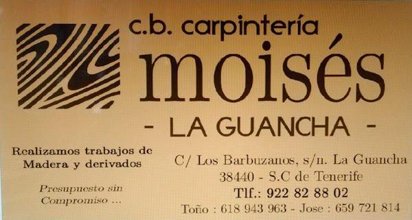 Carpintería Moises La Guacha