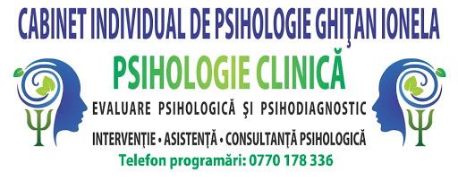 Cabinet Individual de Psihologie Ghițan Ionela