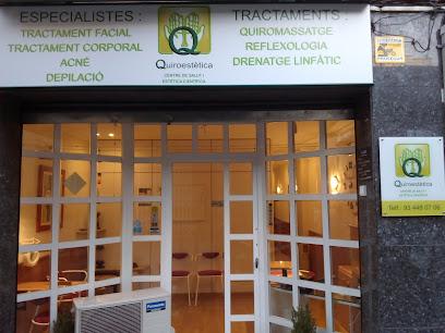 imagen de masajista Quiroestètica