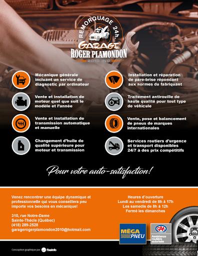 Magasin de pneus Garage Roger Plamondon 2010 Inc à Sainte-Thècle (QC) | AutoDir