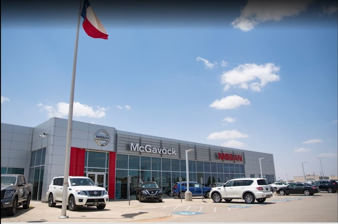 McGavock Nissan Lubbock Parts