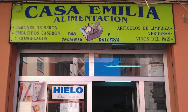 Casa Emilia alimentación