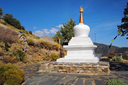 Stupa at O Sel Ling Buddhist Retreat