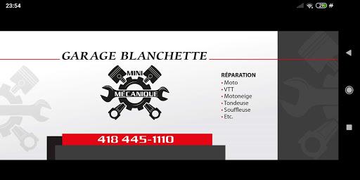 Réparation de moto Blanchette mini mécanique à Baie-Comeau (QC)   AutoDir